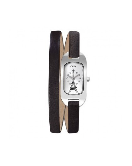 Montre ROSEFIELD The MERCER Cadran Blanc, Maille Milanaise Argent