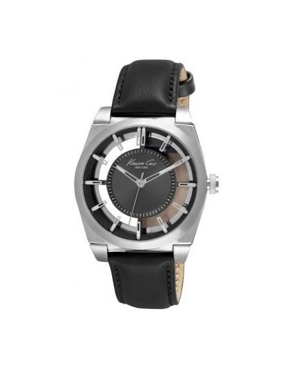 Lotus Style Bracelet Homme Cuir & Acier Tressé Noir LS1384-2/2