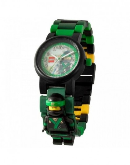 Montre Lego enfant Ninjago Movie Lloyd avec figurine