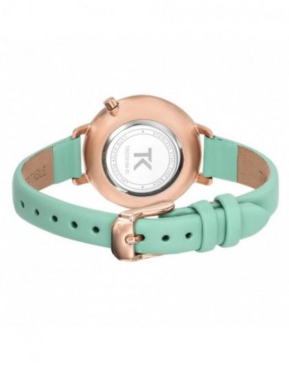 Montre 08 Trg10104 Femme Claire Trendy Bracelet Kiss Vert 5RAL43jq