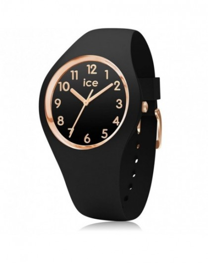Montre Femme Ice Watch Glam Black Rose Gold Small 014760