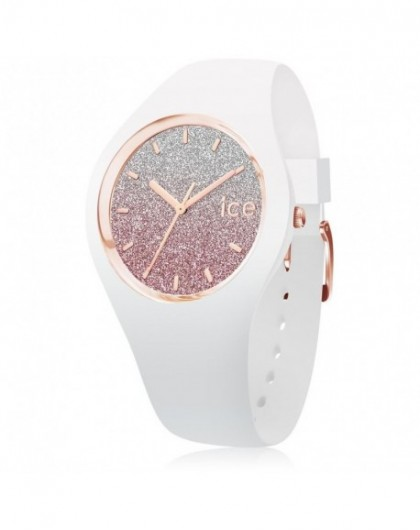 Montre Femme Ice Watch Lo White Pink Small 013427