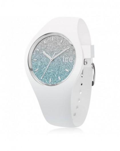 Montre Femme Ice Watch Lo White Blue Medium 013429
