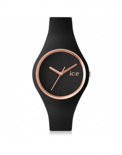 Montre Femme Ice Watch Glam Black Rose Gold Small 000979