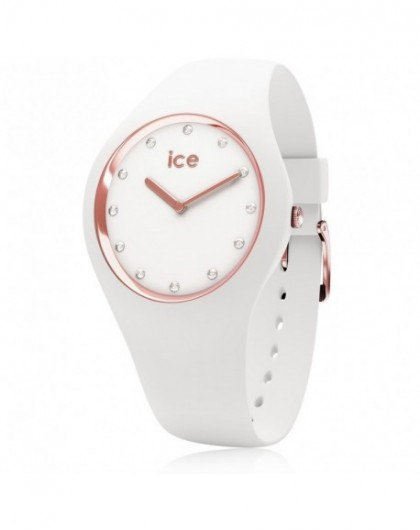Montre Femme Ice Watch Cosmos White Rose Gold Small 016300-GPerDuMesAiguilles.com