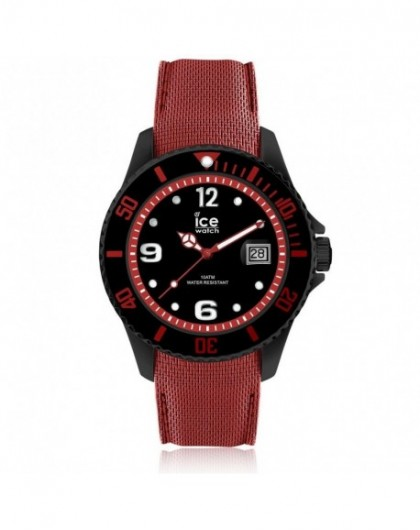 Montre Homme Ice Watch Steel Black Red Large 015782
