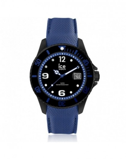 Montre Homme Ice Watch Steel Black Blue Large 015783