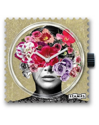 Boitier Montre STAMPS103781 Head Full Of Flowers -GPerDuMesAiguilles.com