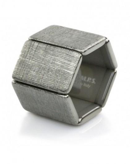 Bracelet Elastique Montre Stamps 103805-4200 Belta Structure Silver-GPerDuMesAiguilles.com