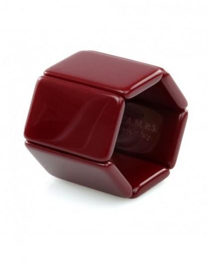 Bracelet Elastique Montre STAMPS 102172-2150 Belta Classic Bordeaux -GPerDuMesAiguilles.com