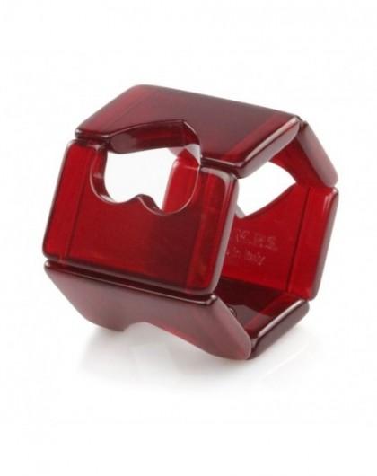 Bracelet Elastique Montre STAMPS 104889-1705 Belta Heart Shiny Red -GPerDuMesAiguilles.com