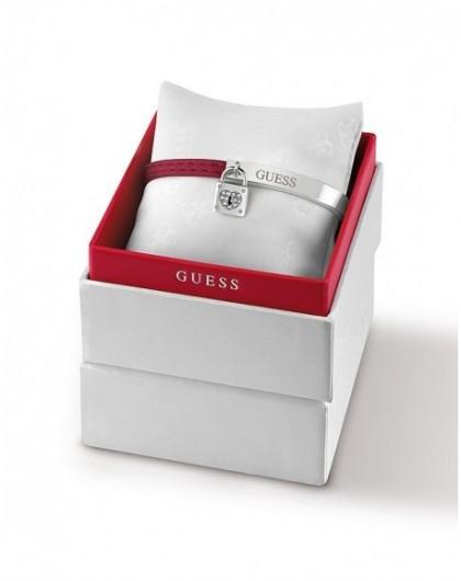 copy of Coffret Bracelet et Boucle d'Oreille Guess My Sweetie métal doré rose UBS84041