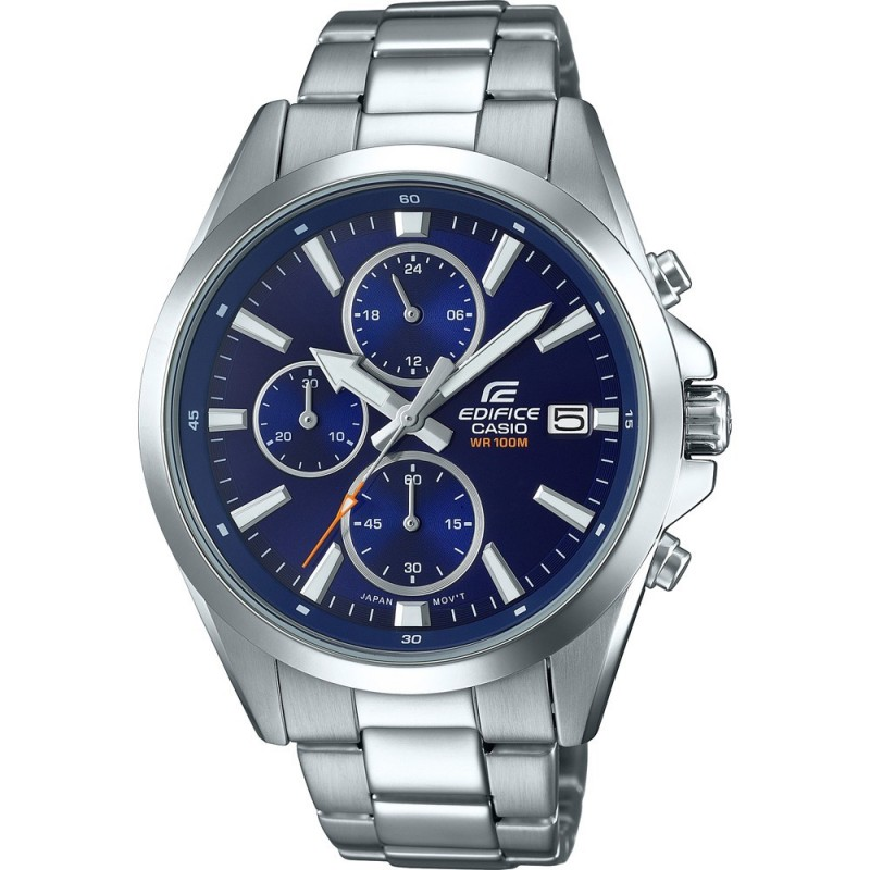 Montre Casio Homme Edifice Chrono Acier EFV 560D 2AVUEF