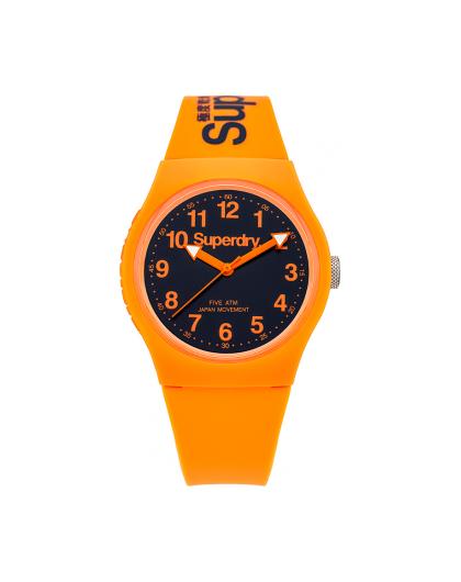 Montre Superdry Femme Urban Silicone Orange SYG164O Sportswear