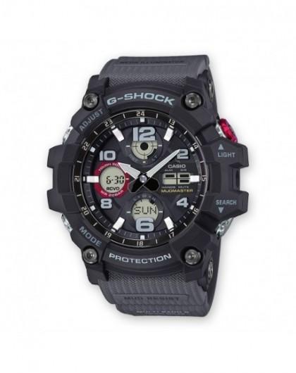 Montre Casio G-Shock Mudmaster Homme Acier Résine Noir GWG100-1A8ER - Gperdumesaiguilles.com