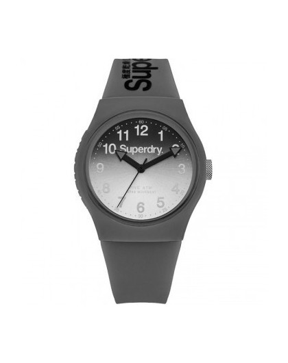 Montre Superdry Femme Urban Silicone Gris SYG198EE Sportswear