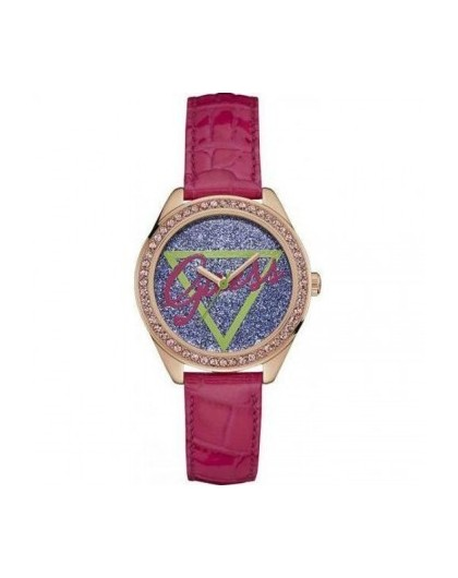Montre Guess Femme Little Flirt Cuir Rouge W0456L19