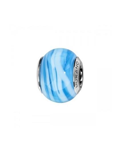 Charms Perle de Murano bleu...