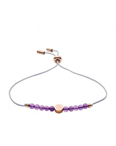 bracelet femme amethyste