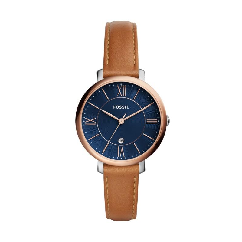 montre bracelet cuir marron femme