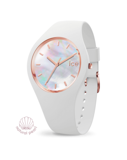 Ice Watch Pearl White Montre Femme Small 016935-GPerDuMesAiguilles.com