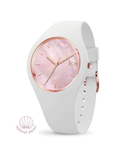 Ice Watch Pearl White Pink...