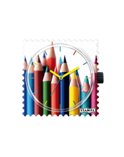 Boitier Montre Stamps 100360 Crayoning-GPerDuMesAiguilles.com