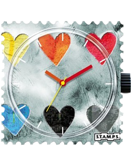 Boitier Montre Stamps 100191 Collecting Hearts-GPerDuMesAiguilles.com