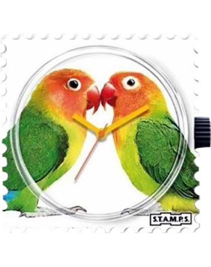 Boitier Montre Stamps 100320 Lovebirds-GPerDuMesAiguilles.com