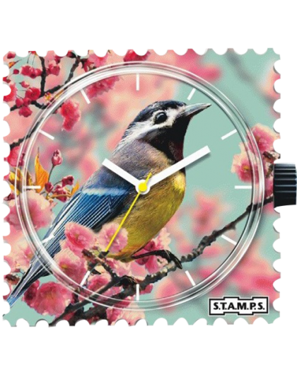 Boitier Montre Stamps 100456 Romantic Bird-GPerDuMesAiguilles.com