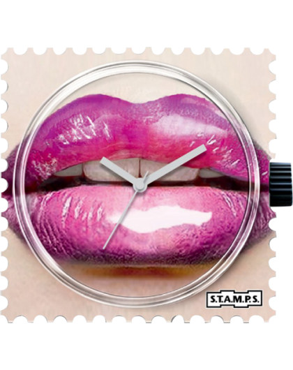 Boitier Montre STAMPS 104284 Glossy Lips-GPerDuMesAiguilles.com
