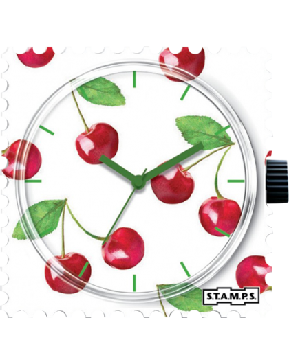 Boitier Montre Stamps 104290 Merry Cherry-GPerDuMesAiguilles.com
