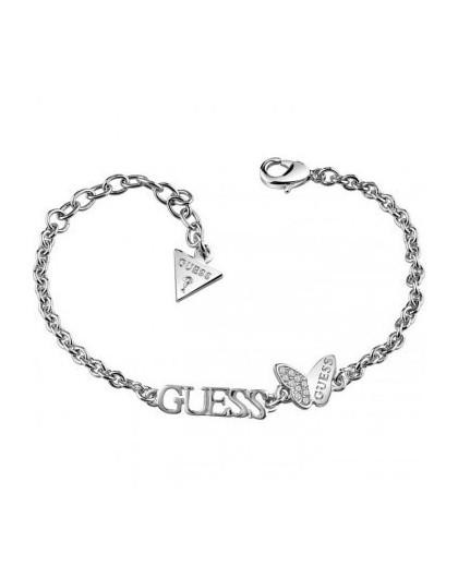 Guess Bracelet Guess Mariposa métal rhodié UBB83014- GPerduMesAiguilles.com