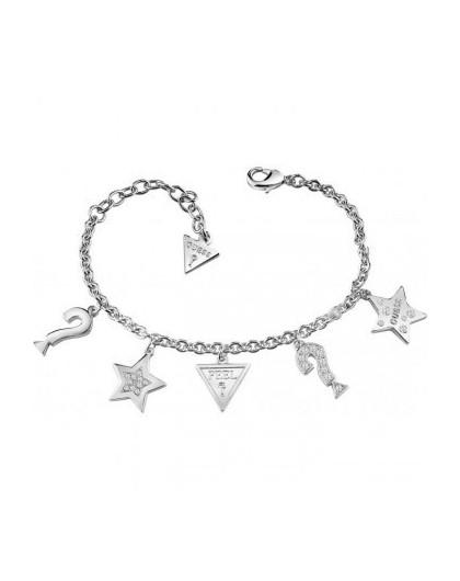 Guess Bracelet Guess FeelGUES métal rhodié UBB83044- GPerduMesAiguilles.com