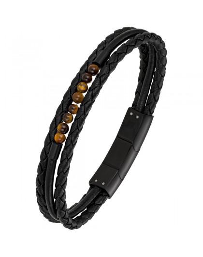 All blacks Bracelet Homme...