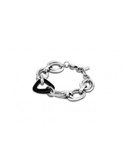bracelet femme acier ceramique
