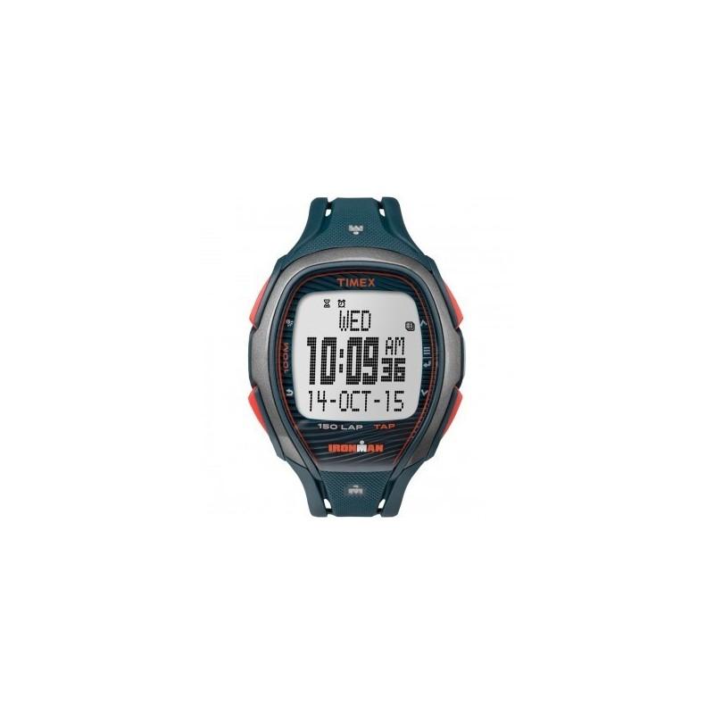 acheter en ligne d5b96 fdb2b Montre Timex Homme Ironman Sleek 150 Résine Bleu TW5M09700SU