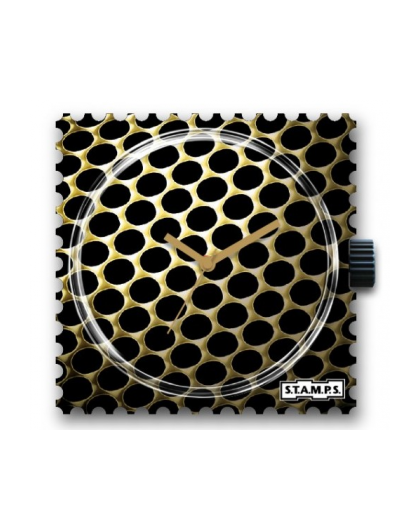 Boitier Montre Stamps 100472 Gold Weaving-GPerDuMesAiguilles.com
