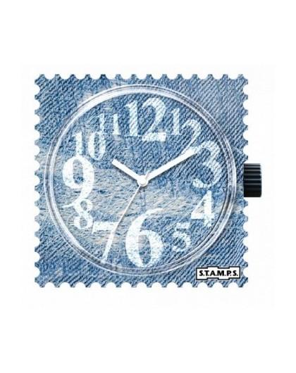 Boitier Montre Stamps 100362 Denim Time-GPerDuMesAiguilles.com