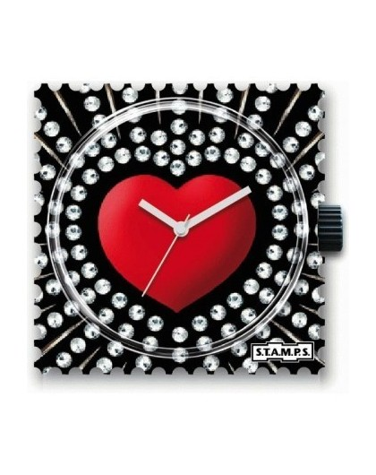 Boitier Montre Stamps 100421 Red Heart-GPerDuMesAiguilles.com