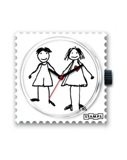 Boitier Montre Stamps 100225 Hansel & Gretel-GPerDuMesAiguilles.com