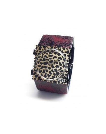 Bracelet Elastique Montre Stamps 103802-1900 Belta Snake Dark Red-GPerDuMesAiguilles.com